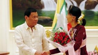 Дутерте с крачка назад от узаконяването на гей браковете във Филипините