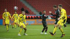 Байер (Леверкузен) излъга Борусия  (Дортмунд) в дербито на 17-ия кръг