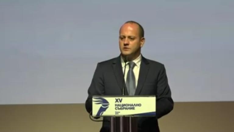 Радан Кънев призова гражданите да подкрепят нов политически проект на ДСБ