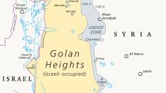 Дамаск: Израел удари Голанските възвишения