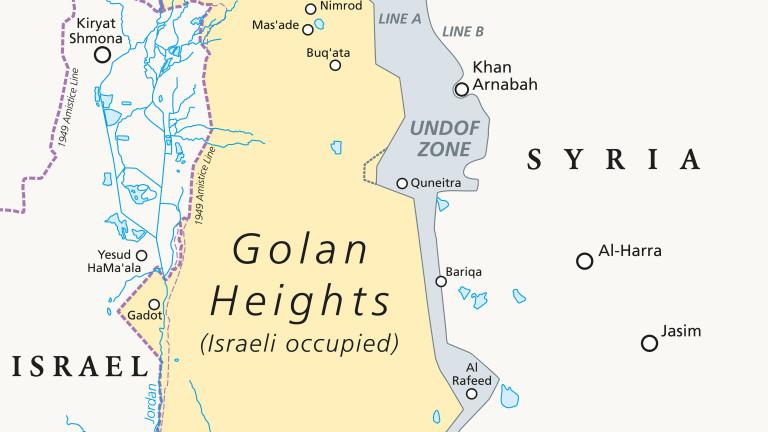 Израел нанесе удари по цели в Сирия