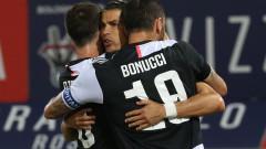 Роналдо и Дибала поведоха Юве към 24-и успех през сезона, победната серия продължава