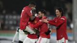 В Манчестър Юнайтед се чудят дали да разчитат на Едисон Кавани