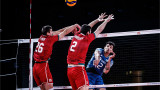Кошмарът за волейболните национали продължва - и САЩ ни отнесе