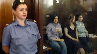 """Адвокати алармират за фалшиви доказателства по делото срещу """"Pussy Riot"""""""
