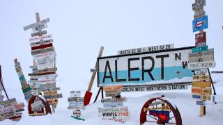 Рекордните температури отчетоха в най-северното обитаемо селище на планетата