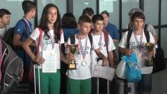 Български олимпийци по математика се върнаха с 10 медала