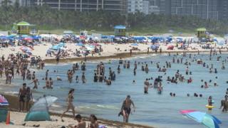 Коронавирус: Близо 80 000 заразени в САЩ и Бразилия само за ден