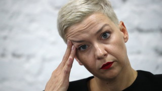 """Беларус обвини опозиционерката Мария Колесникова в """"подкопаване на националната сигурност"""""""