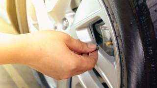 Как да следим налягането на гумите в реално време