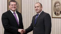 Румен Радев: Работим за Евроенергиен съюз и след края на председателството ни