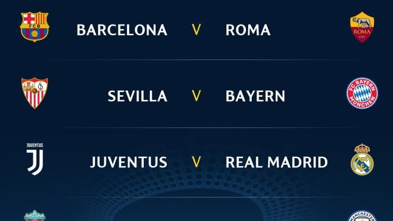 Стана ясна програмата за 1/4 финалите на Шампионска лига. По-рано