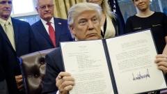 Блокираха миграционната заповед на Тръмп