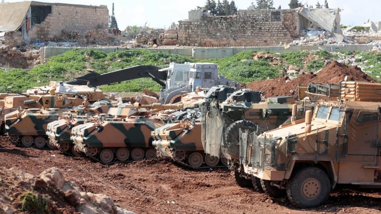 Президентът на Турция Реджеп Ердоган обяви, че турската армия и