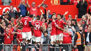 """Кристиано Роналдо се завърна на """"Олд Трафорд"""" с два гола при победата на Юнайтед над Нюкасъл"""