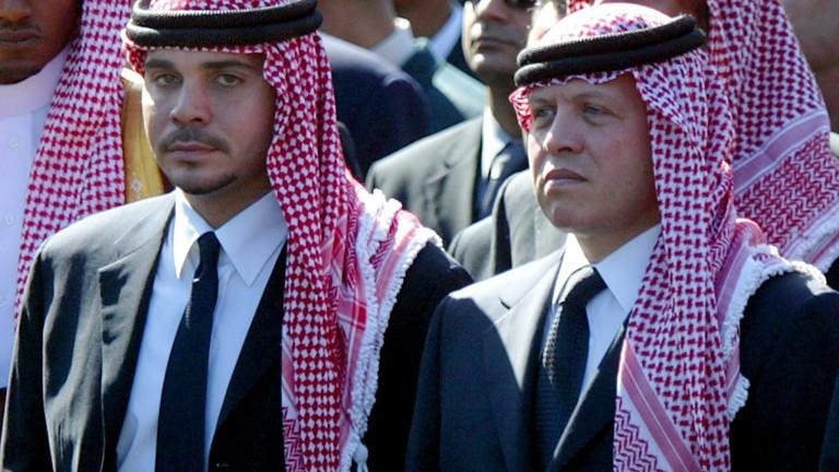 Кралят на Йордания: Потушихме метеж