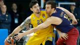 Везенков с 13 точки при победа на Барса в Евролигата
