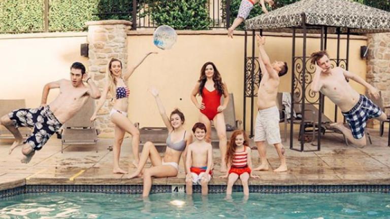 Как изглежда една майка на седем деца