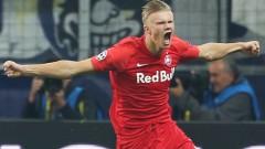 Халанд пое към Англия, за да подпише с Манчестър Юнайтед