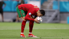 Португалия - Франция, Роналдо изравни след трета дузпа в мача!