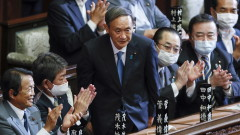 С комфортно мнозинство Йошихиде Суга избран за премиер на Япония