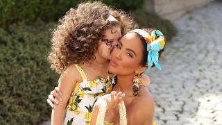 Николета Лозанова към дъщеря си: На добър час! (СНИМКА)