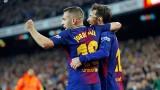 На Жорди Алба му омръзна да чака Барселона