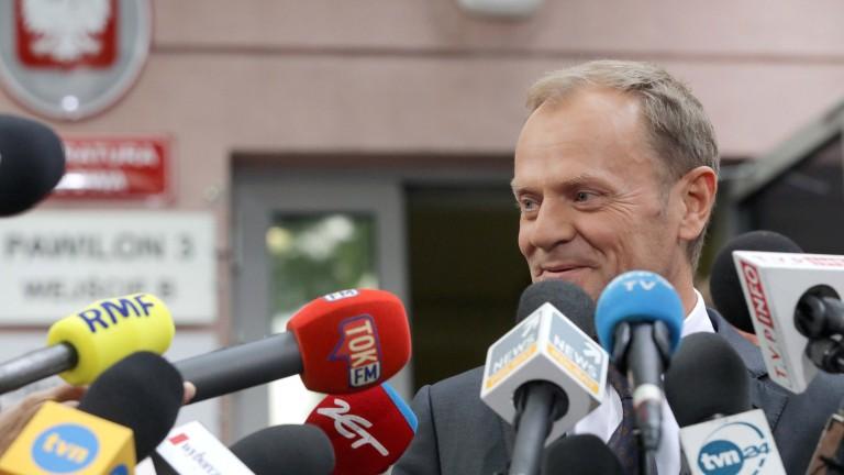 Туск вижда европейското бъдеще на Полша като несигурно
