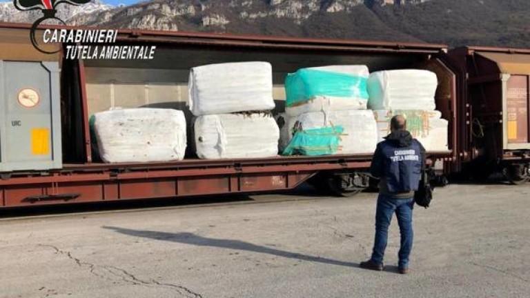 Италианските власти хванаха незаконен товар от 815 тона боклуци за