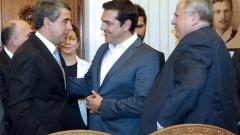 Можем да сме локомотив за развитието на региона, убедени Плевнелиев и Ципрас