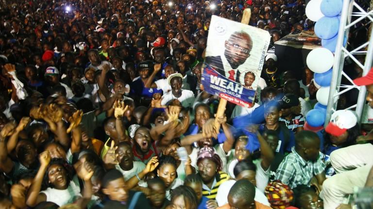 Джордж Уеа е новият президент на Либерия