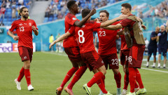 Швейцария се откъсна с шест точки на България след успех над Северна Ирландия