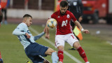 ЦСКА - Дунав 4:0, гол на Пинто