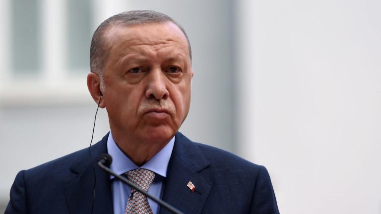 Турският президент РеджепЕрдоган заяви в петък, че отношенията между Анкара