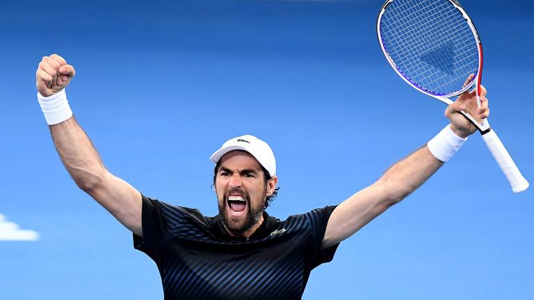 Жереми Шарди е първият полуфиналист на турнира от ATP 250