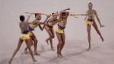 Ансамбълътъ ни по художествена гимнастика спечели титлата в многобоя на Световната купа в София