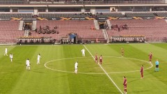 ЧФР Клуж - ЦСКА 0:0, опасно положение за румънците