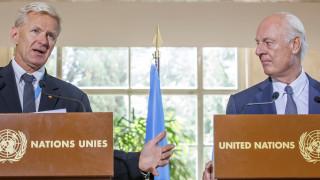 ООН се надява на мирни преговори в Сирия през октомври или ноември
