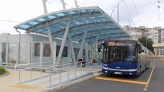Вандали потрошиха спирки на градския транспорт във Варна