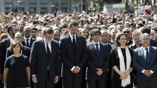 Вълна от съпричастност заля Европа след терора в Барселона
