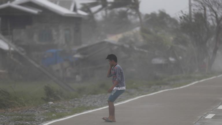 Най-малко 25 са жертвите на мощния тайфун