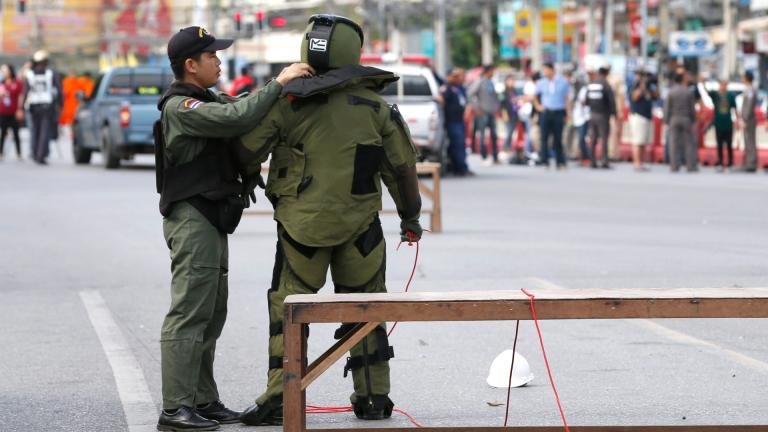 Бомба разтърси тайландска болница