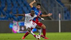Базел - ЦСКА 1:1, Тиаго изравнява резултата с прекрасен гол