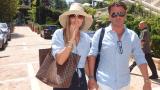 Д-р Енчев и Теди Велинова на аванта в Монте Карло