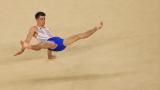 Уитлок с исторически медал в гимнастиката