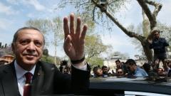 """Водих тежка борба срещу държави с """"манталитет на кръстоносци"""", отчете Ердоган"""
