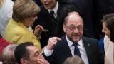 Шулц по-желан от Меркел за канцлер на Германия