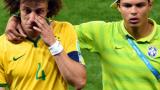 Тиаго Силва и Давид Луиш се видяха в огледалото... преди 20 години (ВИДЕО)