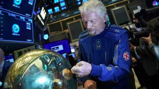 Virgin Galactic отново продава билети за Космоса. Но цената им набъбна до $450 000