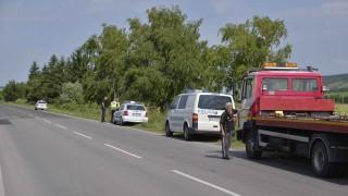 """Катастрофа на пътя """"Златни пясъци"""" - Варна"""